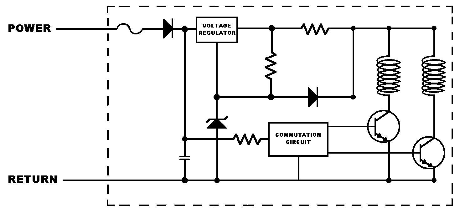 Different Methods To Control Fan Speed Comair Rotron Voltage Controlled Resistor Pictures Figure 1 Regulation Circuit